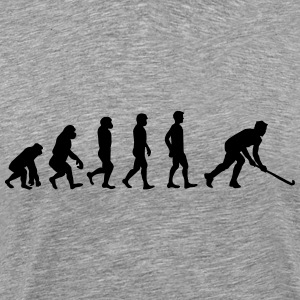 Floorball Evolution - Men's Premium T-Shirt