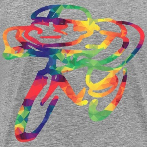 Colorful cyclists - Men's Premium T-Shirt