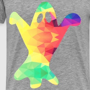 Colorful ghost - Men's Premium T-Shirt