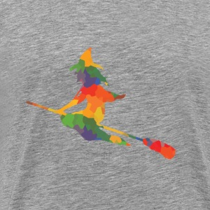 Colored witch - Men's Premium T-Shirt