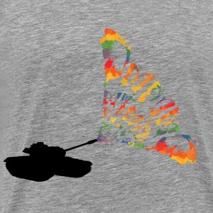 Tank butterflies - Men's Premium T-Shirt