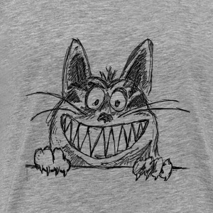 Crazy Cat - Men's Premium T-Shirt