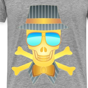 Golden Skull - Men's Premium T-Shirt