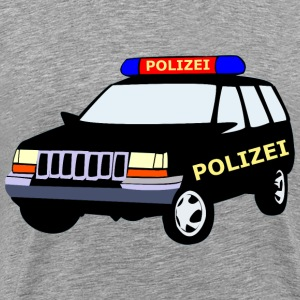Police Car - Men's Premium T-Shirt