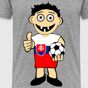 Slovak boy - Men's Premium T-Shirt