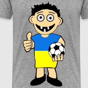 Ukrainian boy - Men's Premium T-Shirt