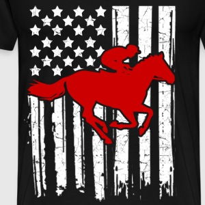 ride horse 1289212.png T-Shirts - Men's Premium T-Shirt