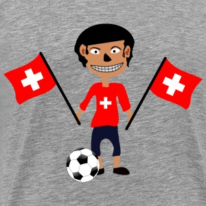 Swiss fan - Men's Premium T-Shirt