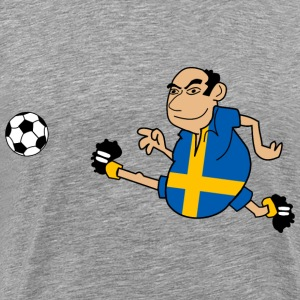 Swedish footballers - Men's Premium T-Shirt