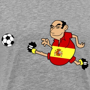 Spanish footballers - Men's Premium T-Shirt