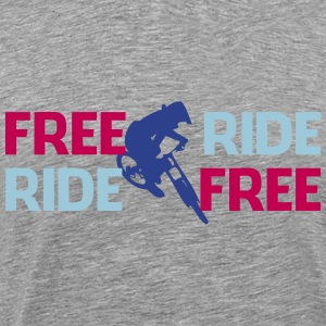 Freeride biker - Men's Premium T-Shirt