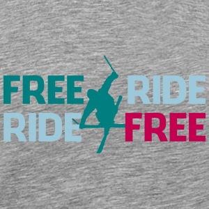 Freeride ski - Men's Premium T-Shirt
