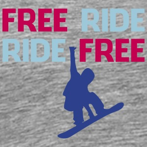 Freeride snowboarders - Men's Premium T-Shirt