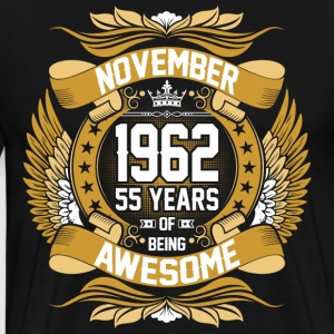 November 1964 53 Years Of Being Awesome T-Shirts - Men's Premium T-Shirt