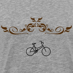 Logo bike - Men's Premium T-Shirt