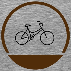 Lady's bike logo - Men's Premium T-Shirt