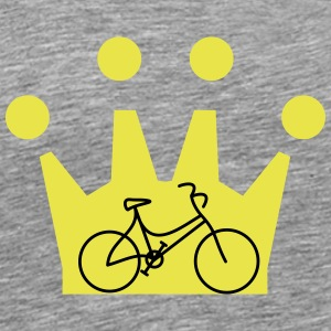 Lady's bike Crown - Men's Premium T-Shirt