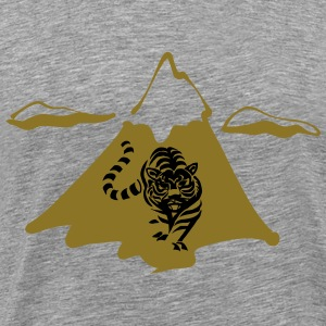 A mountain lion - Men's Premium T-Shirt