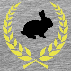 Bunny wreath - Men's Premium T-Shirt