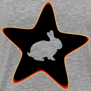 Rabbit star - Men's Premium T-Shirt