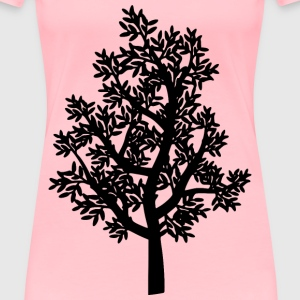 Tree Silhouette - Women's Premium T-Shirt