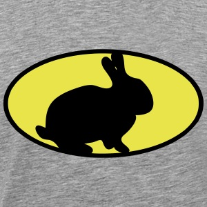 Rabbit logo - Men's Premium T-Shirt