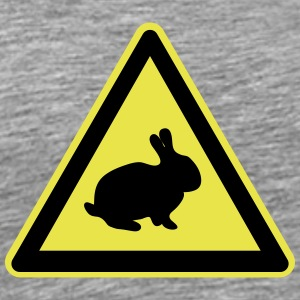 Rabbit plate - Men's Premium T-Shirt