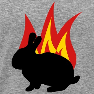 Bunny flame - Men's Premium T-Shirt