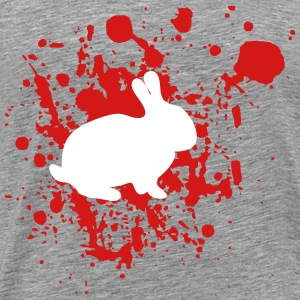 Bunny with blood - Men's Premium T-Shirt