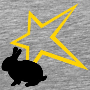 Freaky rabbit star - Men's Premium T-Shirt