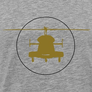 Helicopter logo - Men's Premium T-Shirt