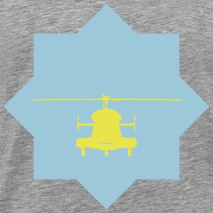 helicopter star - Men's Premium T-Shirt