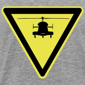 Helicopter symbol - Men's Premium T-Shirt