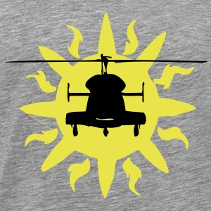 Helicopter Sun - Men's Premium T-Shirt
