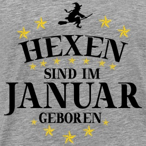 Witches January - Men's Premium T-Shirt