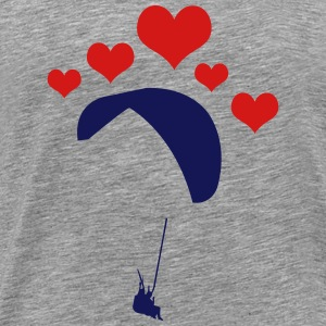 Glider 5 heart - Men's Premium T-Shirt