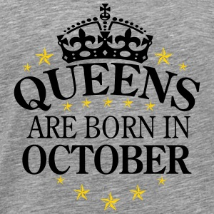 Queens October - Men's Premium T-Shirt