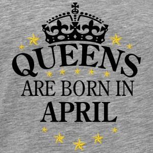 Queens April - Men's Premium T-Shirt