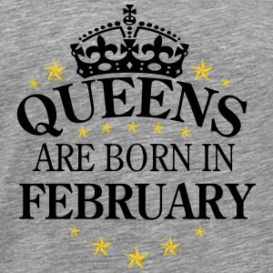 Queens February - Men's Premium T-Shirt