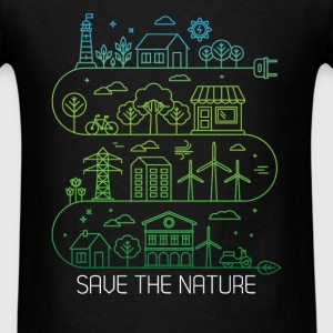 Nature - Save the nature - Men's T-Shirt