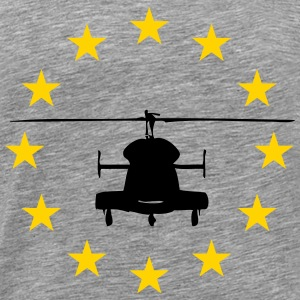Helicopter stars circle - Men's Premium T-Shirt