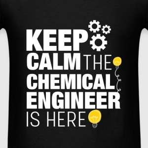 Chemical Engineer - Keep calm the chemical enginee - Men's T-Shirt