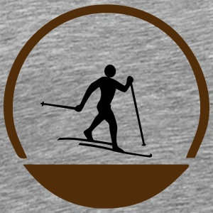 Cross country emblem - Men's Premium T-Shirt