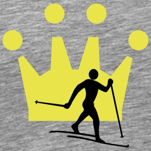 Cross country Crown - Men's Premium T-Shirt