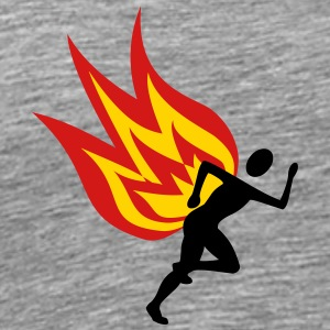 Jogger fire - Men's Premium T-Shirt