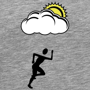 Jogger Sun cloud - Men's Premium T-Shirt