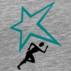Jogger freaky star - Men's Premium T-Shirt