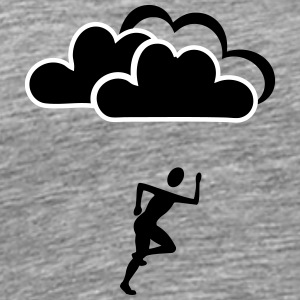 Joggers clouds - Men's Premium T-Shirt
