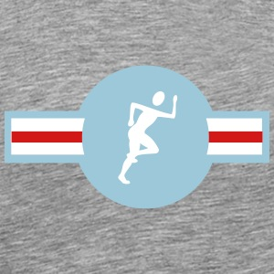 Jogging icon - Men's Premium T-Shirt