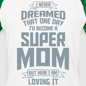 super mom - super mami T-Shirts - Baseball T-Shirt